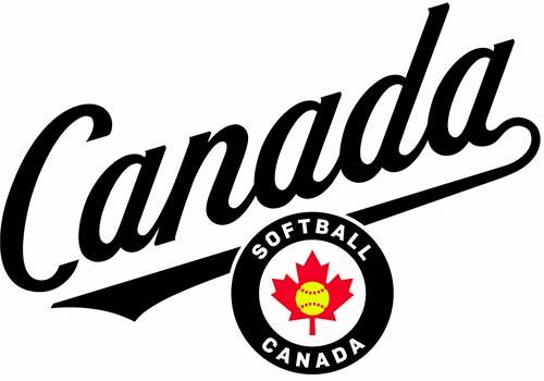 Softball Canada Script + Emblem