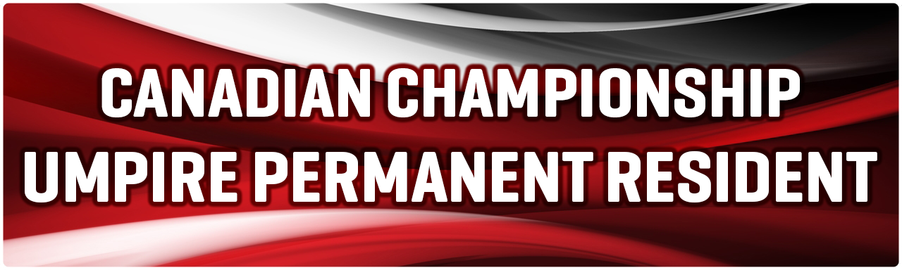 Canadian Championship Umpires Policy