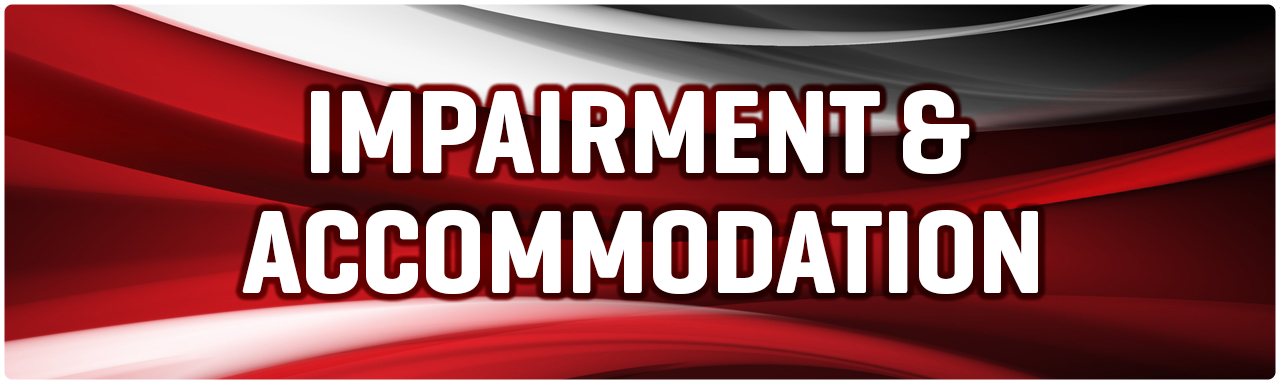 Impairment & Accommodation Policy