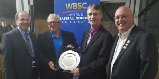Softball Canada Wins Four International Awards at WBSC Congress Gala