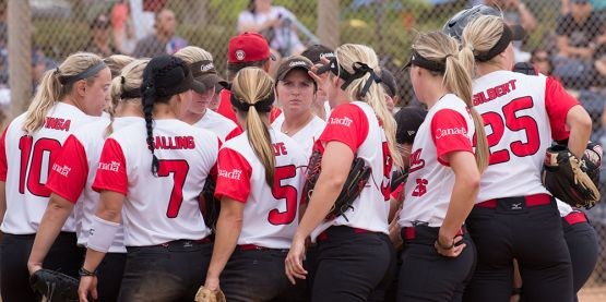 Team Canada Blanks Colombia at USA Softball International Cup