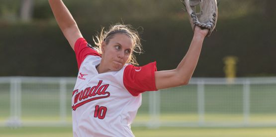 Team Canada Blanks Czech Republic at USA Softball International Cup