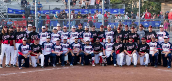 Team USA Sweeps Men's and Women's Slo-Pitch Border Battle