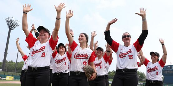 Canada Bounces Back with Run Rule Win over China