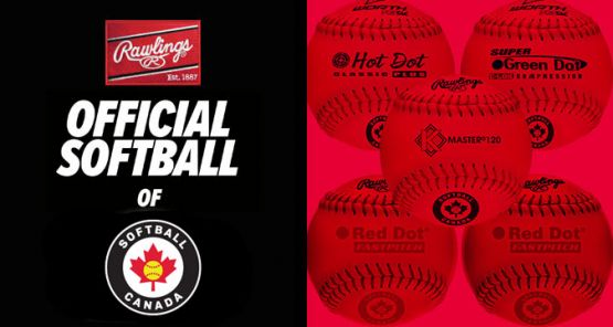 Rawlings Canada and Softball Canada Extend Official Softball Partnership