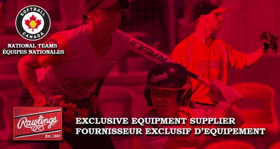 Rawlings Sports Becomes Exclusive Equipment Supplier to Softball Canada's National Teams