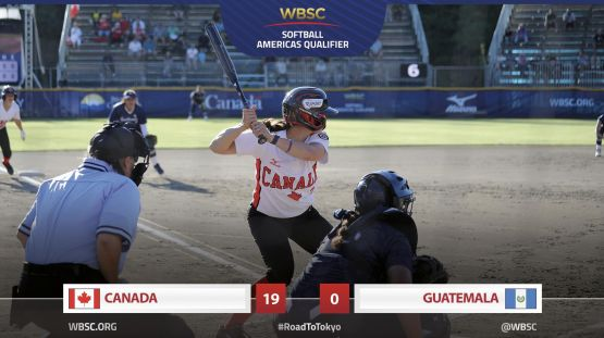 2019 WBSC Americas Qualifier - CAN vs. GUA