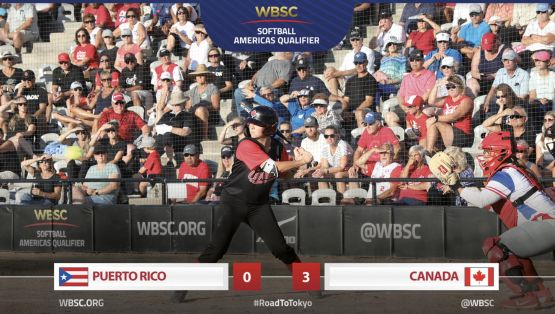 2019 WBSC Americas Qualifier - CAN vs. PUR