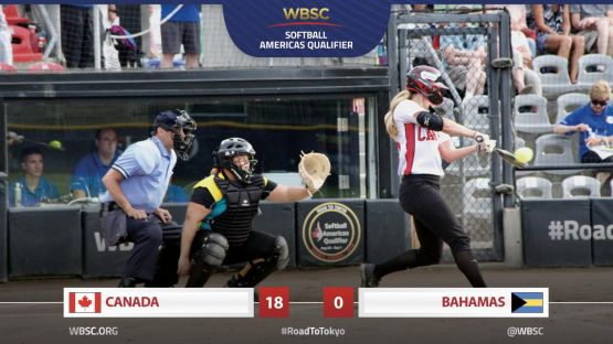 2019 WBSC Americas Qualifier - CAN vs. BAH